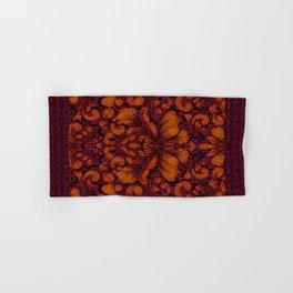Gothic Flowers Hand & Bath Towel