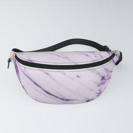 Violet Marble Design Fanny Pack
