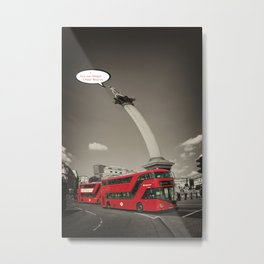 Twisted Nelson Metal Print
