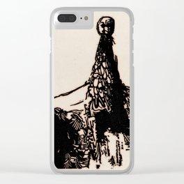 Birdman Clear iPhone Case