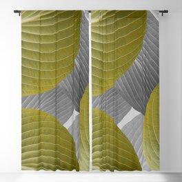 Beautiful Large Leaves #decor #society6 #buyart Blackout Curtain