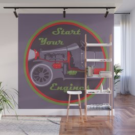 Start your engines Wall Mural