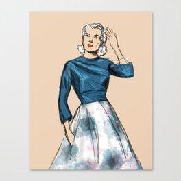 Blue Grace Canvas Print