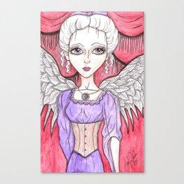 Steampunk Angel Canvas Print