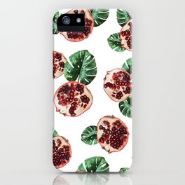 Pomegranate 1.0 iPhone Case