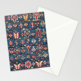 Cobalt Blue Khyrdagyd // 19th Century Authentic Colorful Yellow Red Aztec Butterfly Accent Pattern Stationery Cards