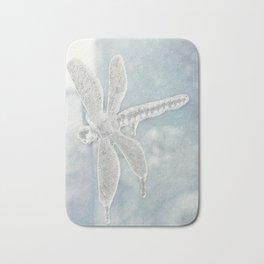 Iced Dragonfly Bath Mat