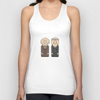 muppets Tank Tops featuring Statler & Waldorf – The Muppets by Big Purple Glasses