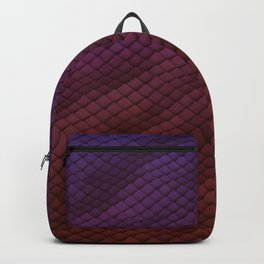 Dragon Scales Pattern Backpack
