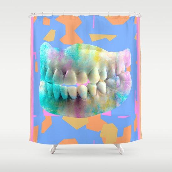 Dino tracks Shower Curtain