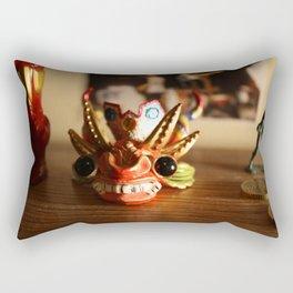 Devil Mask Rectangular Pillow