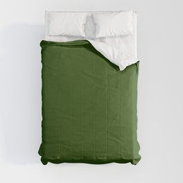 Tread Lightly ~ Forest Green Comforters