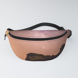 Pink Beach Galaxy Fanny Pack