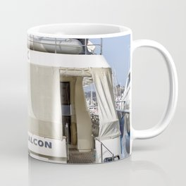 Falcon 102 SuperYacht Coffee Mug