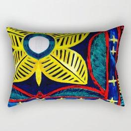 Loose Threads Rectangular Pillow