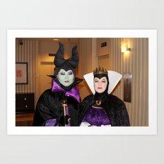 D*Con: Evil Queens Art Print