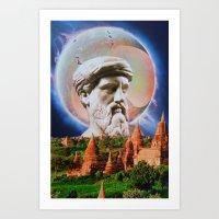 philosophy Art Prints featuring Philosophy by John Turck