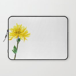 one yellow chrysanthemum Laptop Sleeve