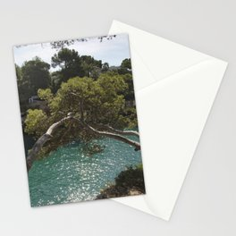 Tranquil Bay at Mallorca Island Stationery Cards