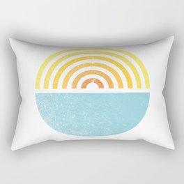 Vinyl Sunset Rectangular Pillow