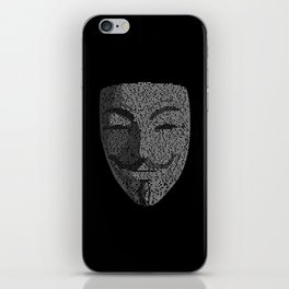 ...You May Call Me 'V' – So who's Anonymous? iPhone Skin