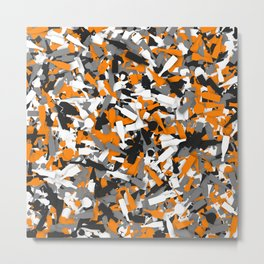 Urban alcohol camouflage Metal Print