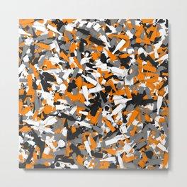 Urban alcohol camouflage Metal Print