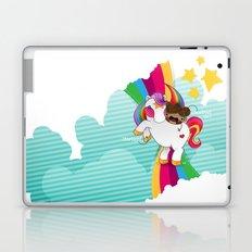 Chestnut Girl And Starlight Laptop & iPad Skin