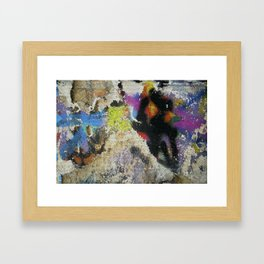 Street art, Napoli 5 Framed Art Print