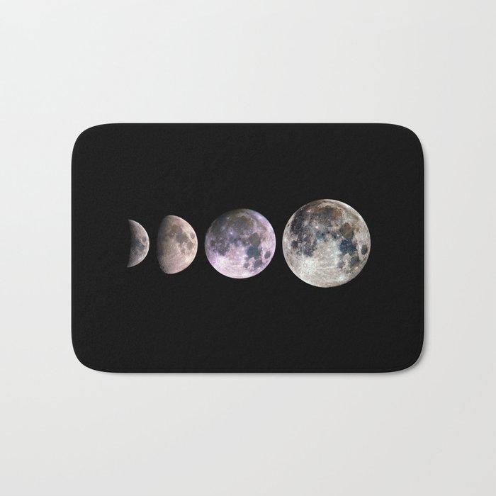 Minimal Mineral Moons Bath Mat