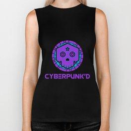 Cybepunk'd Logo Biker Tank