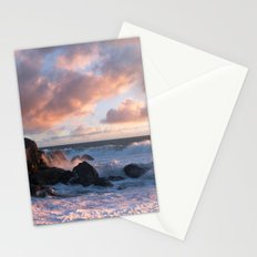 White With Foam Stationery Cards