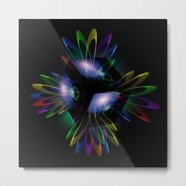 Abstract perfection - Light is energy Metal Print