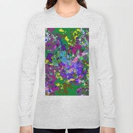 Green background texture Long Sleeve T-shirt