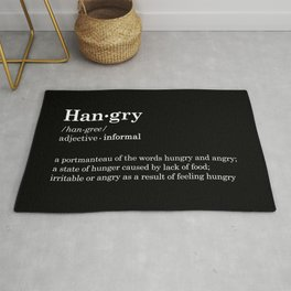Hangry B Rug