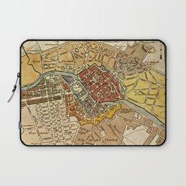 Vintage Map of Berlin Germany (1789) Laptop Sleeve