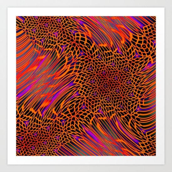 Honey Combs Anita Art Print