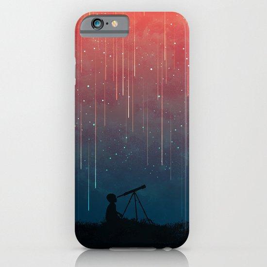 Meteor rain iPhone & iPod Case