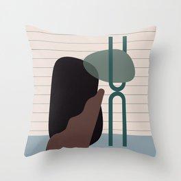 // Shape study #26 Throw Pillow