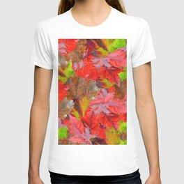 Autumn Fallen Leaves T-shirt