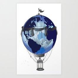 worldballoon Art Print