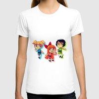 powerpuff girls T-shirts featuring PowerPuff Girls by lemonteaflower