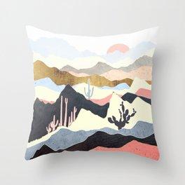 Desert Summer Throw Pillow