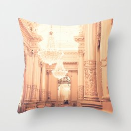 The Golden Room II Throw Pillow
