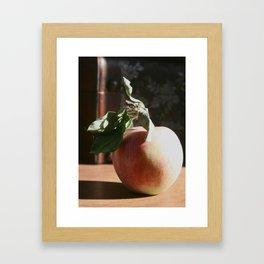 Portrait of an Apple Framed Art Print