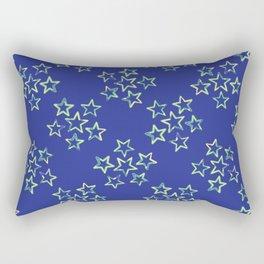 Bright Star Field Texture Rectangular Pillow