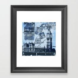 Anglophile Love Framed Art Print