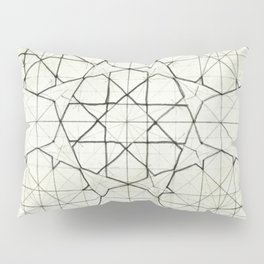Geometry Sketch Nine Pillow Sham