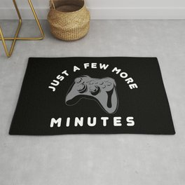 Just a few more minutes | Gamer Gaming Rug