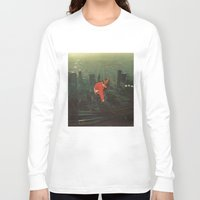 houston Long Sleeve T-shirts featuring houston by Jesse Treece